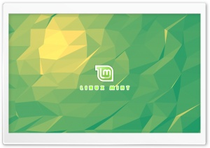 Flat Linux Mint HD Wide Wallpaper for Widescreen