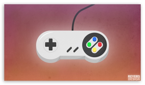 Flat Retro Snes Game Controller ❤ 4K UHD Wallpaper for 4K UHD 16:9 Ultra High Definition 2160p 1440p 1080p 900p 720p ; Tablet 1:1 ; Mobile 16:9 - 2160p 1440p 1080p 900p 720p ;