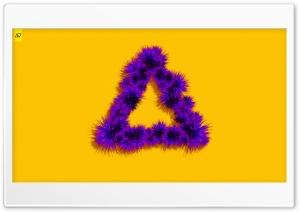 Flora Triangle Ultra HD Wallpaper for 4K UHD Widescreen desktop, tablet & smartphone