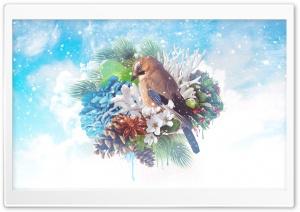 Floral Winter Magic Ultra HD Wallpaper for 4K UHD Widescreen desktop, tablet & smartphone