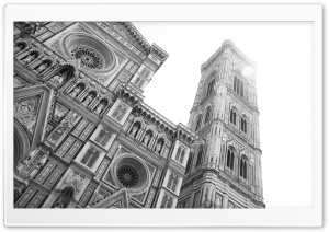 Florence Cathedral in Florence, Italy HD Wide Wallpaper for 4K UHD Widescreen desktop & smartphone