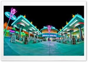 Flos V8 Cafe Cars Land HD Wide Wallpaper for 4K UHD Widescreen desktop & smartphone
