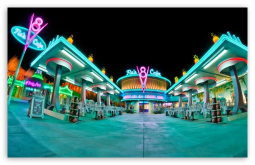 Flos V8 Cafe Cars Land HD wallpaper for Wide 16:10 5:3 Widescreen WHXGA WQXGA WUXGA WXGA WGA ; HD 16:9 High Definition WQHD QWXGA 1080p 900p 720p QHD nHD ; Standard 3:2 Fullscreen DVGA HVGA HQVGA devices ( Apple PowerBook G4 iPhone 4 3G 3GS iPod Touch ) ; Tablet 1:1 ; Mobile 5:3 3:2 16:9 - WGA DVGA HVGA HQVGA devices ( Apple PowerBook G4 iPhone 4 3G 3GS iPod Touch ) WQHD QWXGA 1080p 900p 720p QHD nHD ;
