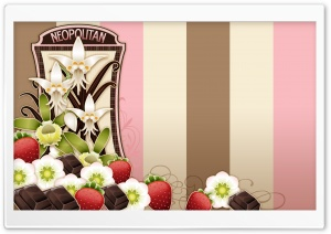 Flowers   Fruits And Chocolate HD Wide Wallpaper for Widescreen