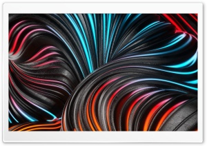 Flowing Digital Art Ultra HD Wallpaper for 4K UHD Widescreen desktop, tablet & smartphone