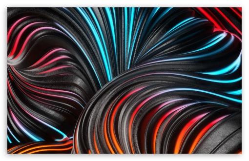 Download Flowing Digital Art HD Wallpaper