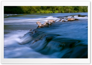 Flowing Water HD Wide Wallpaper for Widescreen