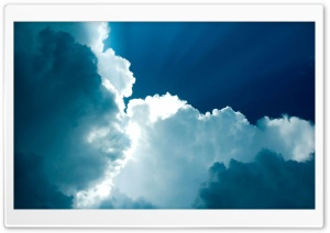 Fluffy Clouds HD Wide Wallpaper for Widescreen
