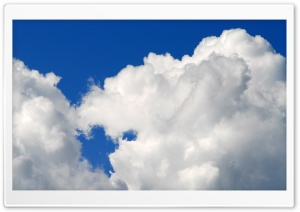 Fluffy Clouds Ultra HD Wallpaper for 4K UHD Widescreen desktop, tablet & smartphone