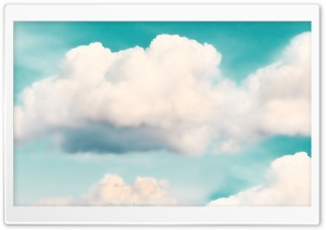 Fluffy Clouds HD Wide Wallpaper for 4K UHD Widescreen desktop & smartphone
