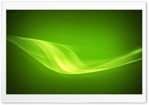 Flux Green HD Wide Wallpaper for Widescreen