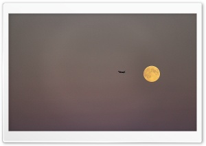 Fly Me to the Moon HD Wide Wallpaper for Widescreen
