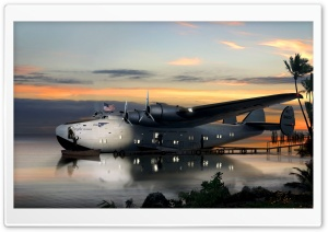 Flying Boat HD Wide Wallpaper for Widescreen