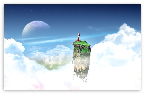 Flying Island HD wallpaper for Wide 16:10 5:3 Widescreen WHXGA WQXGA WUXGA WXGA WGA ; HD 16:9 High Definition WQHD QWXGA 1080p 900p 720p QHD nHD ; Standard 4:3 3:2 Fullscreen UXGA XGA SVGA DVGA HVGA HQVGA devices ( Apple PowerBook G4 iPhone 4 3G 3GS iPod Touch ) ; Tablet 1:1 ; iPad 1/2/Mini ; Mobile 4:3 5:3 3:2 16:9 5:4 - UXGA XGA SVGA WGA DVGA HVGA HQVGA devices ( Apple PowerBook G4 iPhone 4 3G 3GS iPod Touch ) WQHD QWXGA 1080p 900p 720p QHD nHD QSXGA SXGA ;