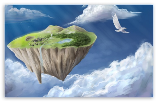 Flying Island HD wallpaper for Wide 16:10 5:3 Widescreen WHXGA WQXGA WUXGA WXGA WGA ; HD 16:9 High Definition WQHD QWXGA 1080p 900p 720p QHD nHD ; Standard 4:3 5:4 3:2 Fullscreen UXGA XGA SVGA QSXGA SXGA DVGA HVGA HQVGA devices ( Apple PowerBook G4 iPhone 4 3G 3GS iPod Touch ) ; Tablet 1:1 ; iPad 1/2/Mini ; Mobile 4:3 5:3 3:2 16:9 5:4 - UXGA XGA SVGA WGA DVGA HVGA HQVGA devices ( Apple PowerBook G4 iPhone 4 3G 3GS iPod Touch ) WQHD QWXGA 1080p 900p 720p QHD nHD QSXGA SXGA ;