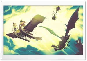 Flying Machine HD Wide Wallpaper for Widescreen