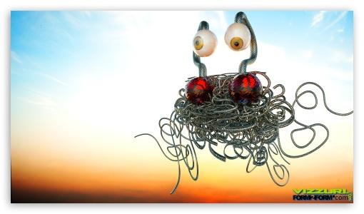Flying Spaghetti Monster 3 UltraHD Wallpaper for 8K UHD TV 16:9 Ultra High Definition 2160p 1440p 1080p 900p 720p ;