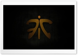 Fnatic Logo Ultra HD Wallpaper for 4K UHD Widescreen desktop, tablet & smartphone