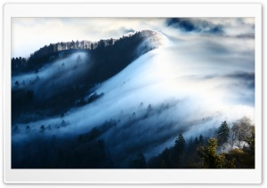 Fog Wave HD Wide Wallpaper for Widescreen