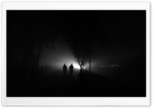 Foggy Evening Ultra HD Wallpaper for 4K UHD Widescreen desktop, tablet & smartphone