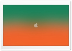 FoMef iCloud Orange Green Mix 5K HD Wide Wallpaper for Widescreen