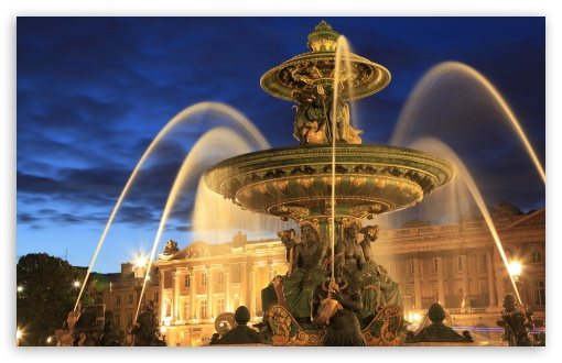Fontaine de la Concorde at night, Paris, France ❤ 4K UHD Wallpaper for Wide 16:10 5:3 Widescreen WHXGA WQXGA WUXGA WXGA WGA ; 4K UHD 16:9 Ultra High Definition 2160p 1440p 1080p 900p 720p ; Standard 3:2 Fullscreen DVGA HVGA HQVGA ( Apple PowerBook G4 iPhone 4 3G 3GS iPod Touch ) ; Mobile 5:3 3:2 16:9 - WGA DVGA HVGA HQVGA ( Apple PowerBook G4 iPhone 4 3G 3GS iPod Touch ) 2160p 1440p 1080p 900p 720p ;