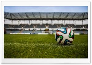Football Ball, Stadium Ultra HD Wallpaper for 4K UHD Widescreen desktop, tablet & smartphone