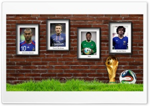 Football Legends Ultra HD Wallpaper for 4K UHD Widescreen desktop, tablet & smartphone