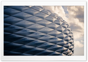 Football Stadium, Munich, Germany HD Wide Wallpaper for Widescreen