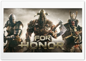 For Honor Video Game 2017, Knight, Samurai, Viking HD Wide Wallpaper for Widescreen