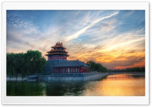 Forbidden City, Beijing, China HD Wide Wallpaper for Widescreen