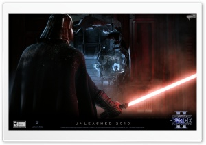Force Unleashed II - Dark Vader HD Wide Wallpaper for 4K UHD Widescreen desktop & smartphone