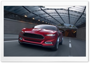 Ford Evos Concept Road HD Wide Wallpaper for Widescreen