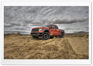Ford F-150 SVT Raptor HD Wide Wallpaper for Widescreen