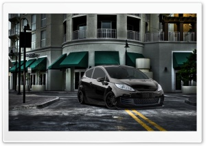 Ford Fiesta HD Wide Wallpaper for Widescreen