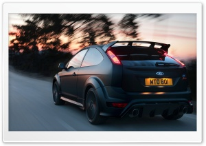 Ford Focus RS500 - Rear HD Wide Wallpaper for Widescreen