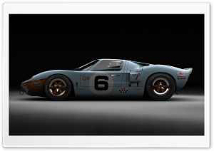 Ford GT40 Le Mans 1969 HD Wide Wallpaper for 4K UHD Widescreen desktop & smartphone