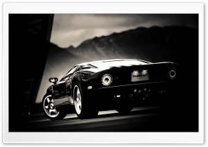 Ford GT Black HD Wide Wallpaper for Widescreen