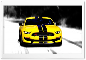 Ford Mustang HD Wide Wallpaper for Widescreen