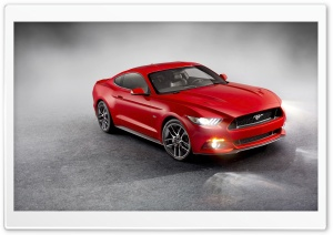 Ford Mustang 2015 HD Wide Wallpaper for Widescreen