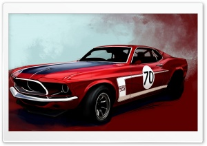 Ford Mustang Boss 302 Classic Car HD Wide Wallpaper for Widescreen