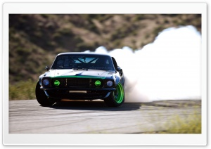 Ford Mustang Drifting HD Wide Wallpaper for Widescreen