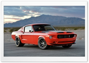 Ford Mustang Fastback 1968 Villain Pro-Touring Ultra HD Wallpaper for 4K UHD Widescreen desktop, tablet & smartphone