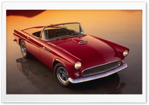Ford Thunderbird HD Wide Wallpaper for Widescreen