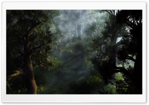 Forest 3D HD Wide Wallpaper for Widescreen