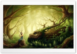 Forest Creatures HD Wide Wallpaper for Widescreen