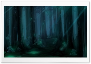 Forest Fantasy HD Wide Wallpaper for Widescreen