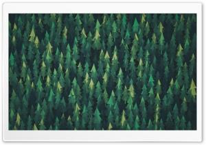 Forest Illustration HD Wide Wallpaper for 4K UHD Widescreen desktop & smartphone