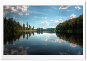 Forest Lake HD Wide Wallpaper for Widescreen