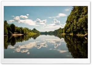 Forest Lake 4 HD Wide Wallpaper for Widescreen